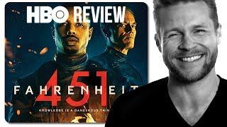 Fahrenheit 451 HBO Movie Review (No Spoilers)