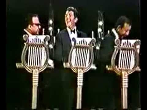 Allan Sherman with Dean Martin and Vic Damone
