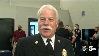 Randy Royal Sworn In As Colorado Springs' New Fire Chief