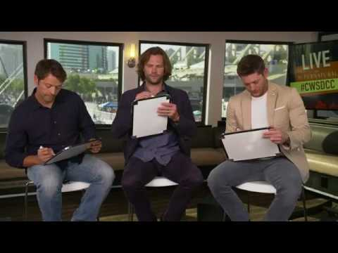 Supernatural Comic Con 2017 - Jensen, Jared and Misha answers questions for each other!!!