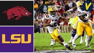 Arkansas vs #1 LSU Highlights | Week 13 | College Football 2019