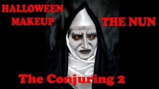 HALLOWEEN MAKEUP: THE NUN, THE CONJURING 2: Valak
