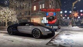 CSR Racing 2    Legendary & Evolutin Cup w/ Bugatti Veyron Super Sport!
