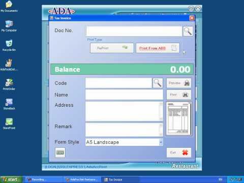 การออกใบกำกับภาษีเต็มรูป (Full Tax Invoice)