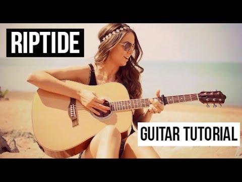 Guitar guitar chords riptide : RIPTIDE - VANCE JOY GUITAR TUTORIAL // EASY LESSON - YouTube