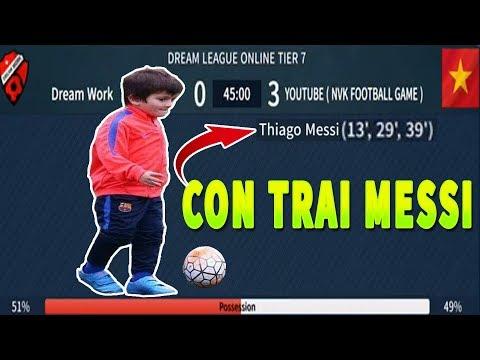 Thử Ra mắt Thiago Messi và cái kết Dream League Soccer 2019