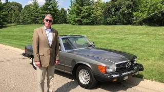 1984 Mercedes 380SL Review and Raffle