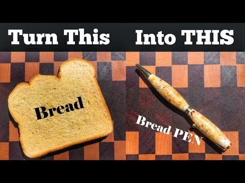 How To Make a Pen out of Bread | How To Turn Sprinkles Into a Pen Too | Diy Project