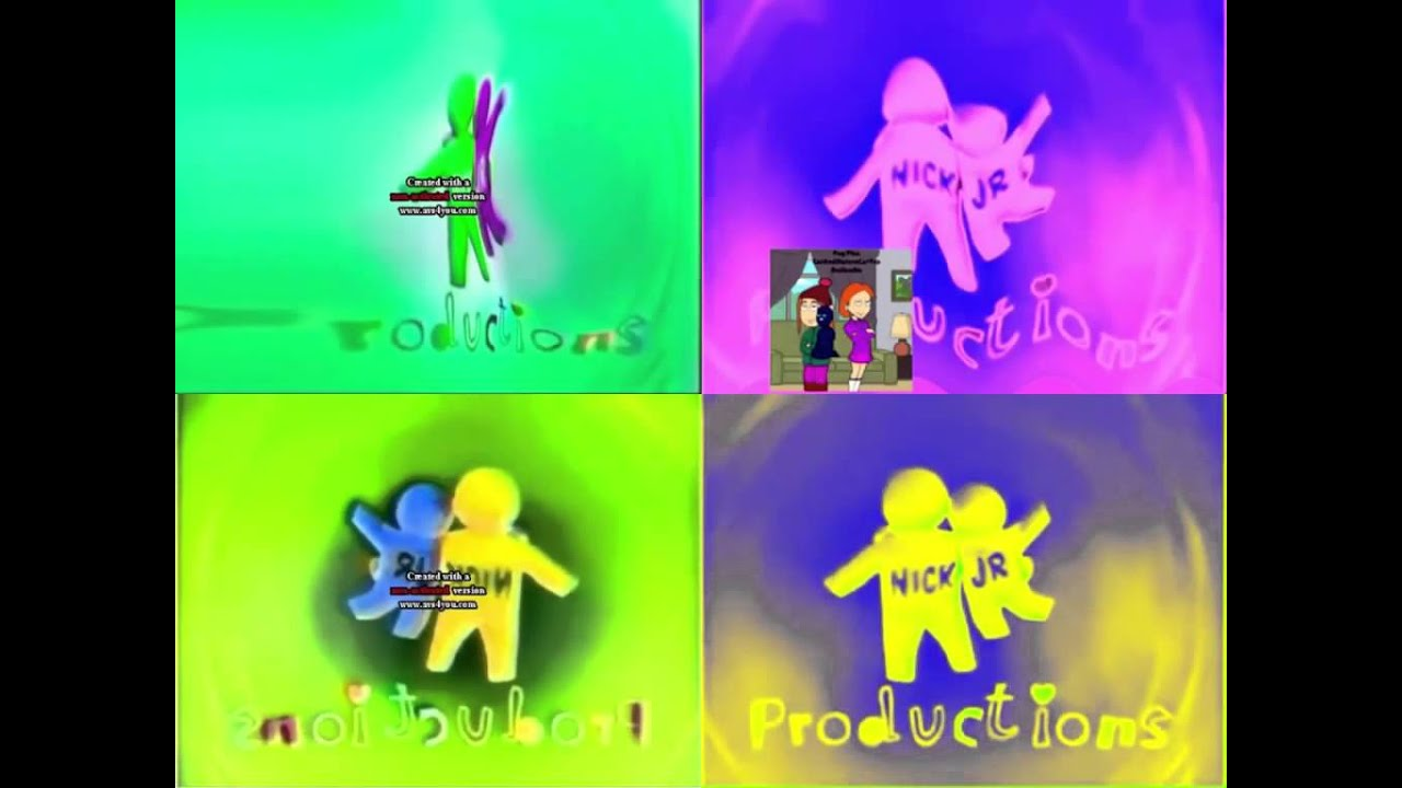 noggin and nick jr logo collection quadparison 16 youtube