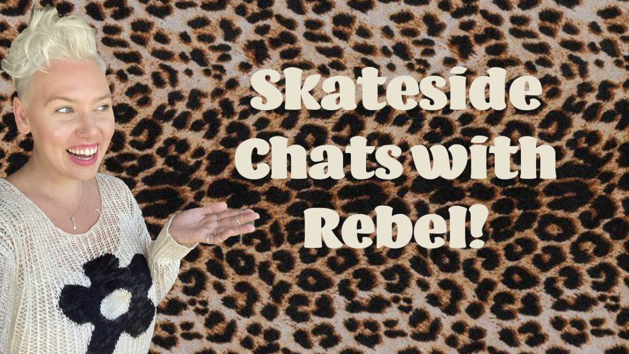 Skateside Chats: I dyed my hair, I love chili oil, and we talk about dream roller skate designs!