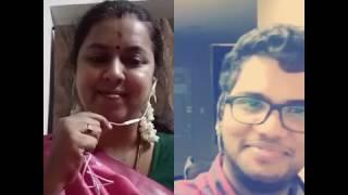 Kannum kannum kalandhu - Male doing female voice..