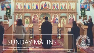 Sunday Matins (October 11)