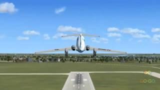 Авиатренажер Ту 134 - Обзор Подарки-Впечатления Go-Go