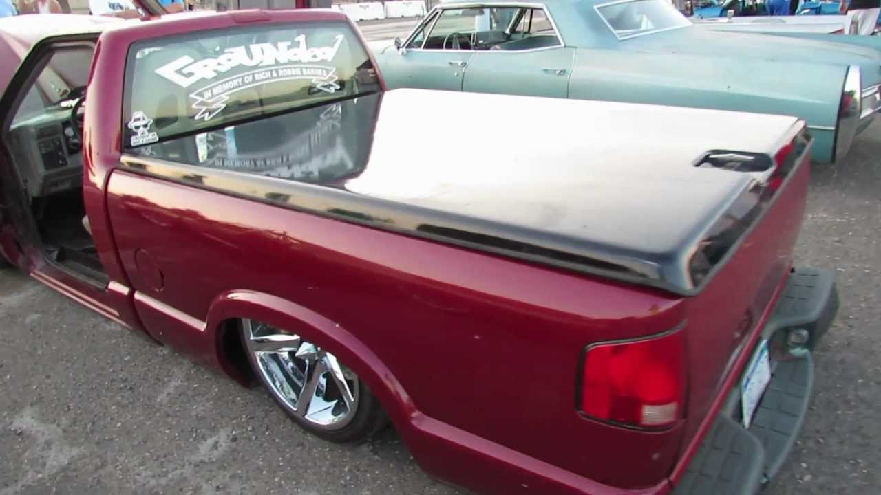 1995 chevy s10 lowrider slam jam 2012 youtube. Black Bedroom Furniture Sets. Home Design Ideas