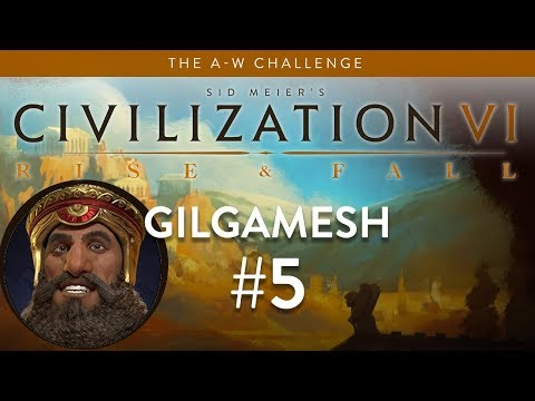 Let's Play Civilization 6: Rise and Fall - Deity - Gilgamesh part 5