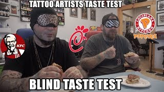 Popeyes Chicken Sandwich BLIND Taste Test!!