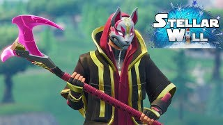 Fortnite (PC) // Unlocked Drift Pickaxe and Jacket!! Road To Max Drift Outfit!!
