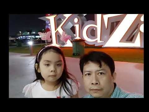 Kidzania Doha photos with Janelle
