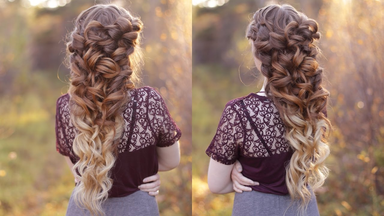 Goddess braid wedding hair youtube junglespirit