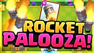 Can YOU Beat These EPIC Rocket Moments in Clash Royale? Do it and WIN!