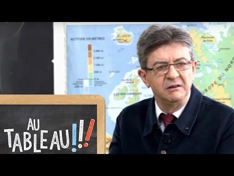 Jean-Luc Mélenchon explique la règle verte en 60 secondes au tableau