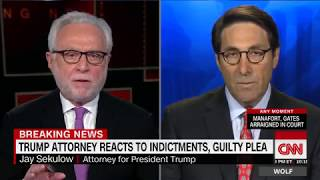 Trump attorney: Manafort charges not related to the campaign (Full CNN Interview)