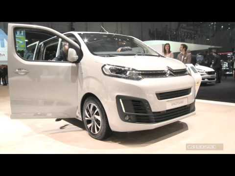 Salon de Genève 2016 - Citroën Space Tourer : transport de troupe