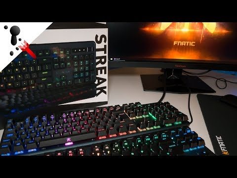 Fnatic Streak and Mini Streak Keyboard Review  Discount Code: RJN