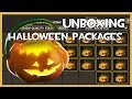 TF2 - Unboxing 17 Halloween Packages