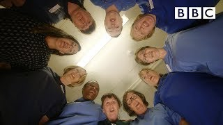 NHS at 70: Hold My Hand Lip Sync - BBC