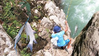 Amazing...!  The most satisfying fishing spot | Fishing in The River lot of Fish (Part 3)