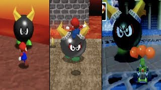 Appearances of 'Big Bully' in Mario Games (1996 - 2005)