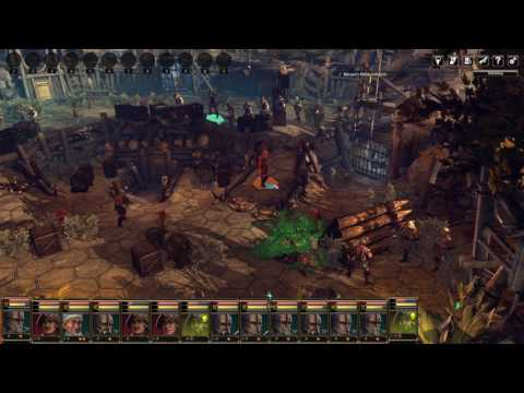 Blackguards 2 - Defending a town without even getting hit! |