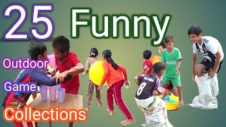 25 Collections Of Fun Outdoor Games / Party Games