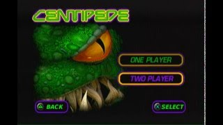 Centipede - Sony PlayStation 1 PS1 - GamePlay Adventure Arcade