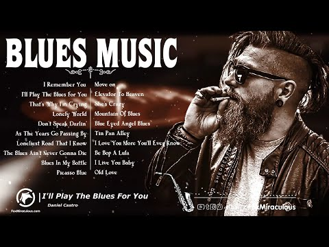 Blues Music | Best Slow Blues Songs Of All Time | Slow Relax Blues Ballads