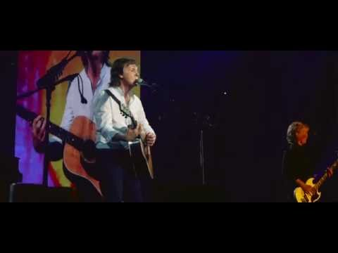 Paul McCartney playing
