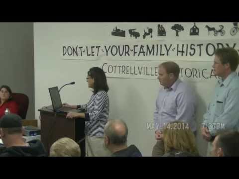 May 14, 2014 - Cottrellville Board meeting