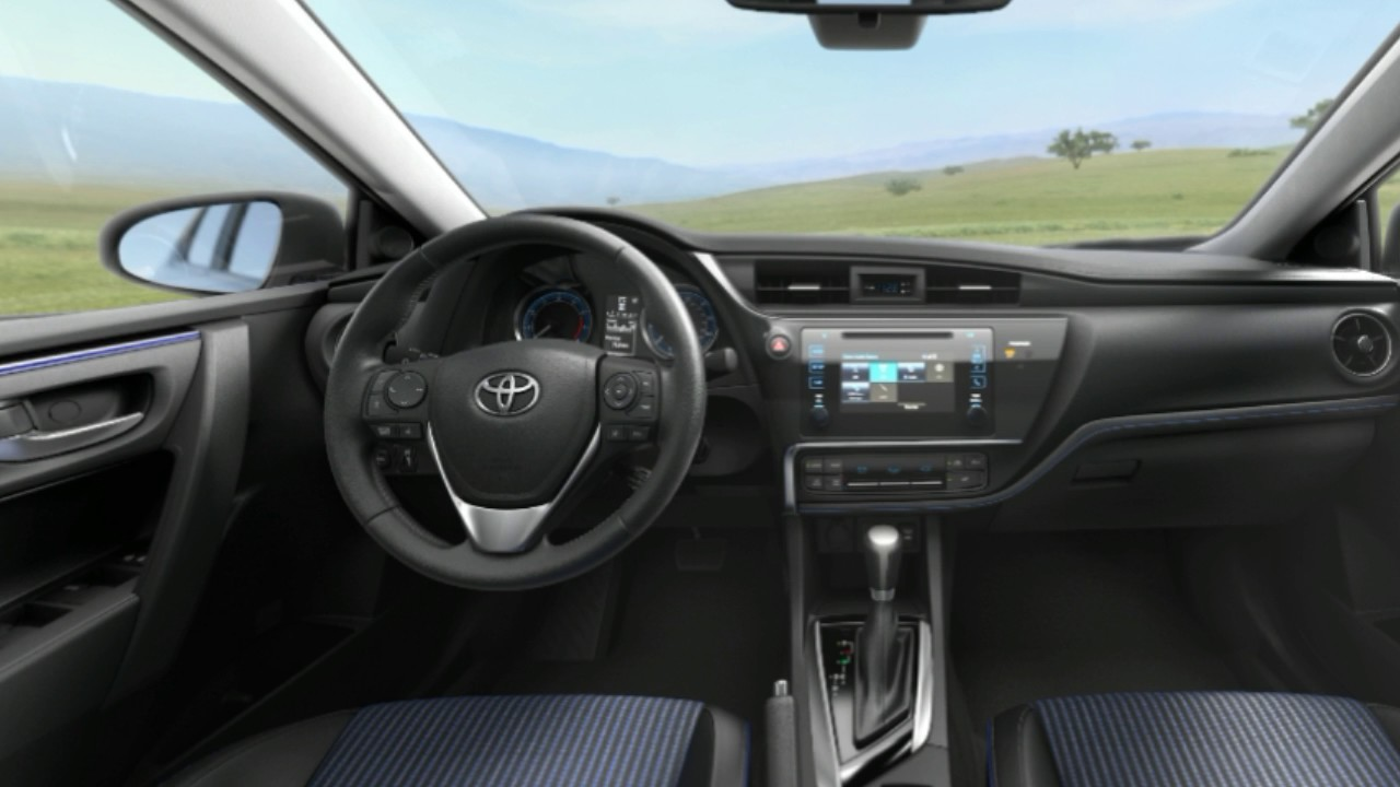 2017 Toyota Yaris Ia Sedan Interior
