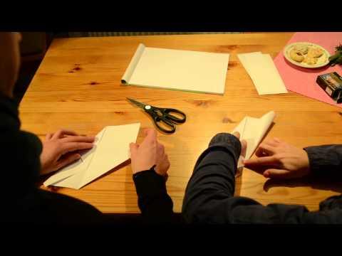 tutorial:  paper star lantern for christmas