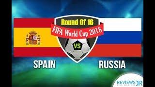 Spain Vs Russia Live || Croatia Vs Denmark || FIFA World Cup 2018 Live Stream || English commentary