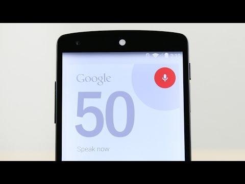 50 Google Now Voice Commands