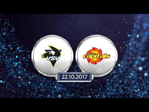 Erste Bank Eishockey Liga 2017/18, 14. Runde: EC VSV vs. Vienna Capitals 4:3 n.P.