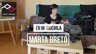 En mi mochila: Marta Bretó