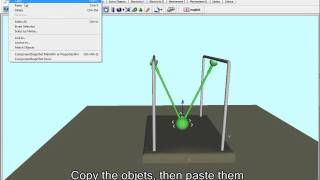 Build Newton's Cradle With Subtitle