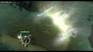 Dota 2 Keeper of the Light - Northlight Illuminance kinetic gem preview