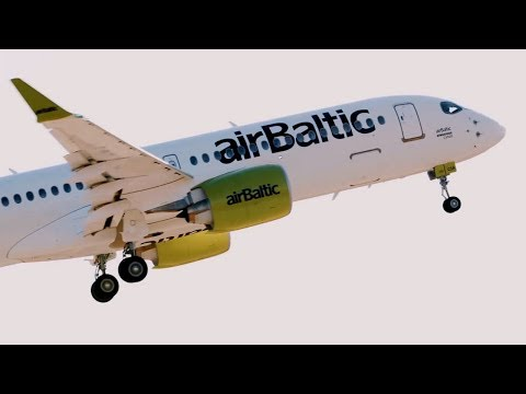 Air Baltic Reflects on Its First Year of Flying the Bombardier C Series CS300 Airliner – AINtv