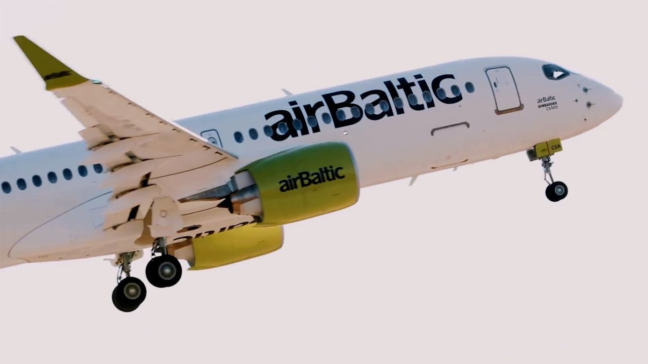Air Baltic Reflects On First Year Of Flying The Bombardier