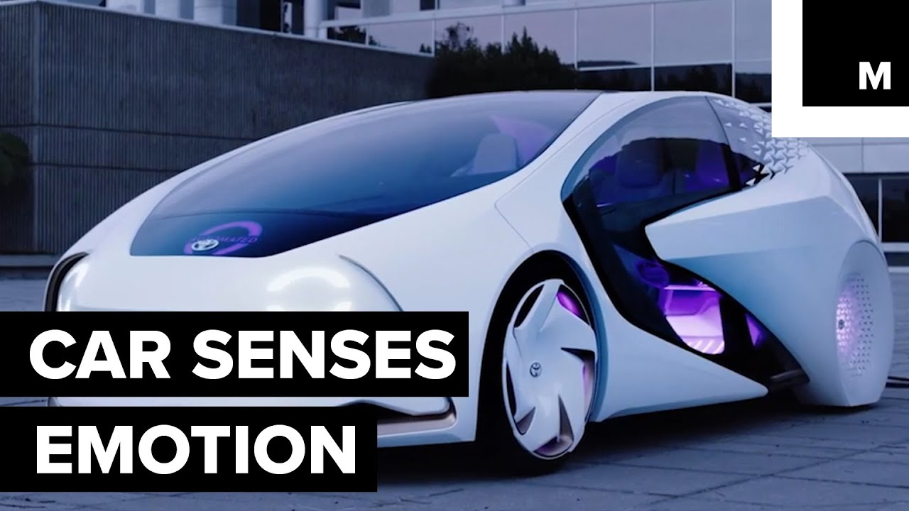 Toyota Concept I Futuristic Car Youtube