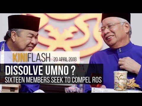 Sixteen Umno members seek Umno's dissolution | KiniFlash - 20 Apr